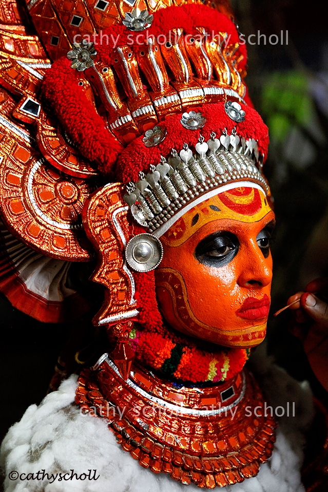 Theyyam portrait